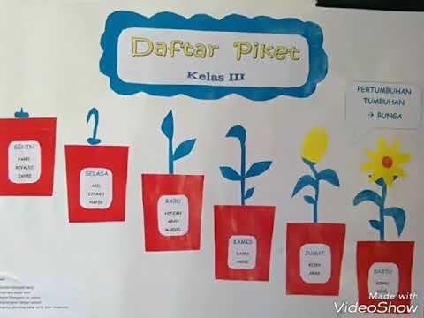 15 Trend Terbaru Jadwal Piket Hiasan Kelas Sd Kelas 5 Panda Assed