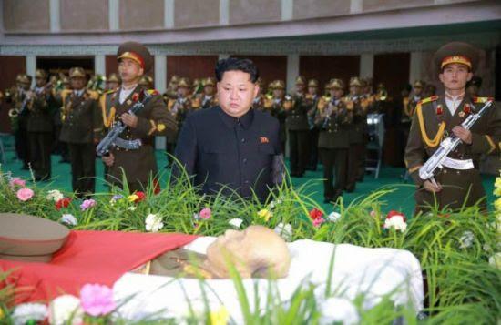 Hình ảnh Lãnh đạo Kim Jong-un viếng nguyên soái Triều Tiên số 3