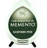 Tusz do stempli Memento Dew drops NORTHERN PINE 27