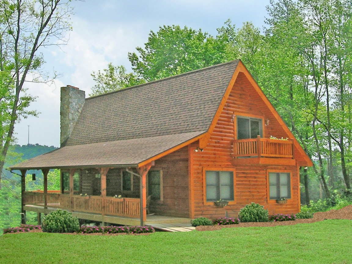 Rustic  House  Plans  with Front Porch Rustic  House  Plans