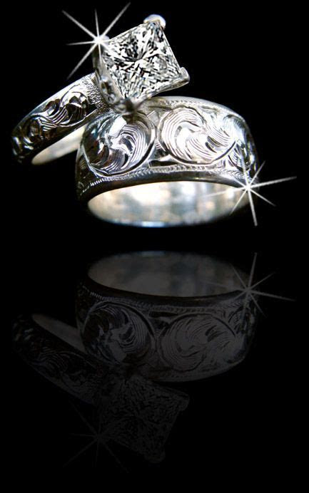 Western Wedding Rings on Pinterest   Western Wedding