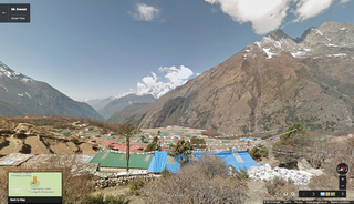 google maps everest
