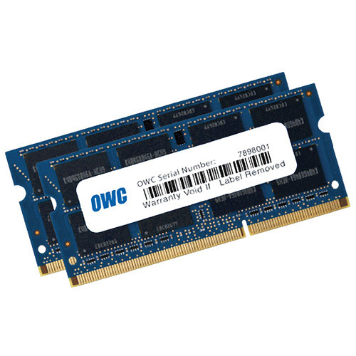 16GB (2 x 8GB) 204-pin SODIMM DDR3L1600 MHz Speed Memory