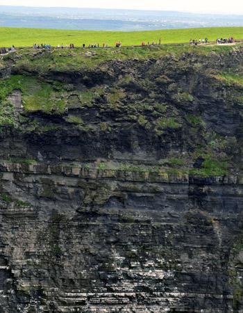 4. Les falaises de Moher, en Irlande