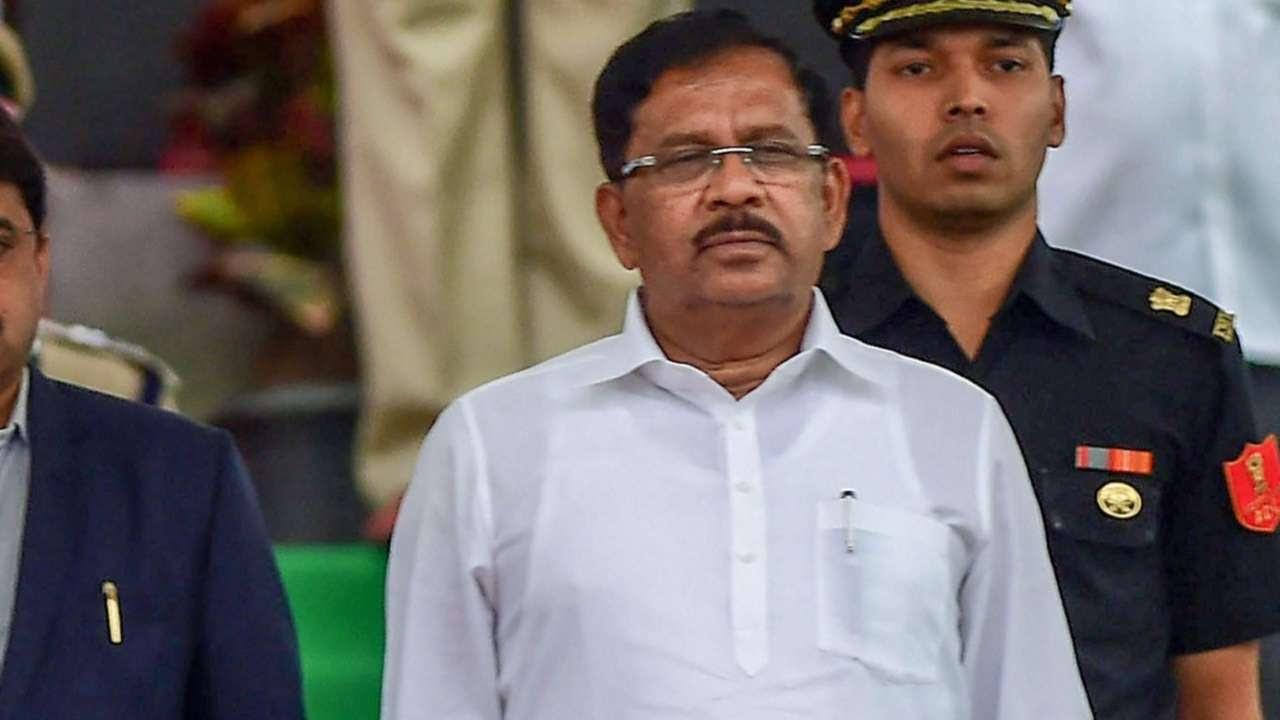 Parameshwara taking oath