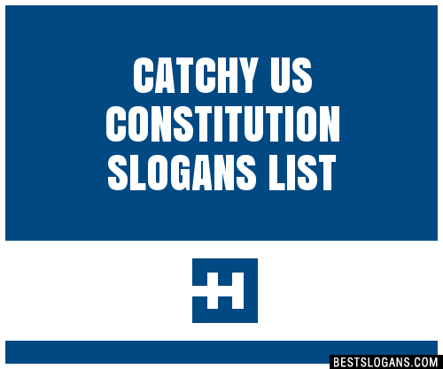 Cool Slogan On Constitution