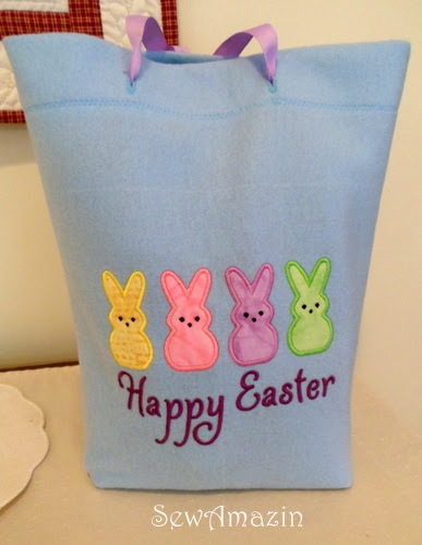 Belated happy easter reusable gift bags easter gift bags negle Images