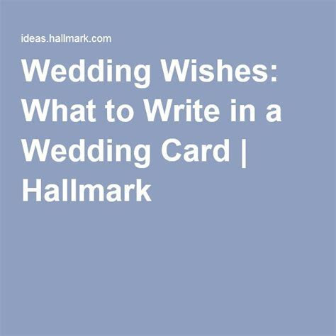Wedding wishes: what to write in a wedding card   Stamping