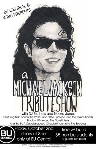 Michael Jackson tribute show at BU Central