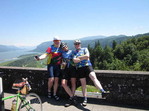 Dave, Cecil and Edna at Crown Point