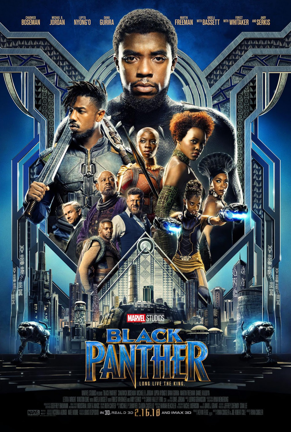 Extra Large Movie Poster Image for Black Panther (#3 of 23)
