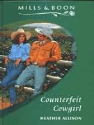 book cover of   Counterfeit Cowgirl
