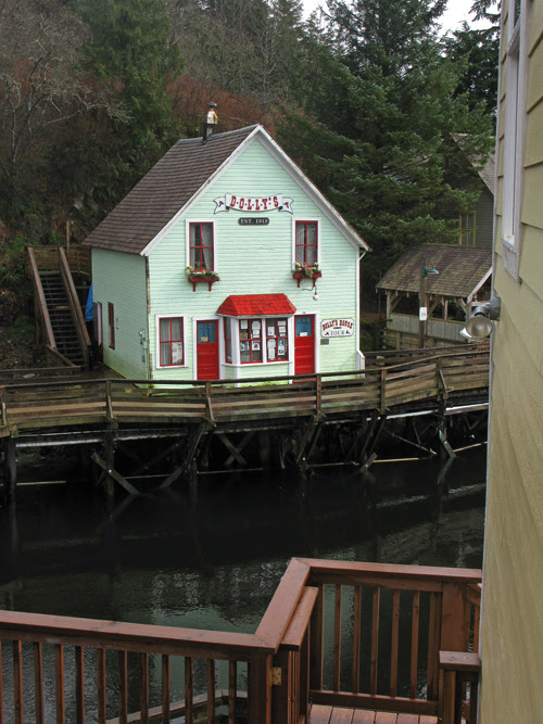 a few of Dolly's, Creek Street, Ketchikan, Alaska