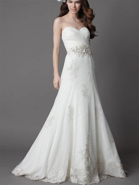 White Wedding Dresses Montreal   Dresscab