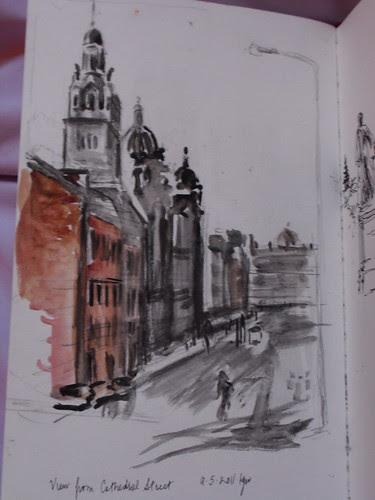 Glasgow near cathedral