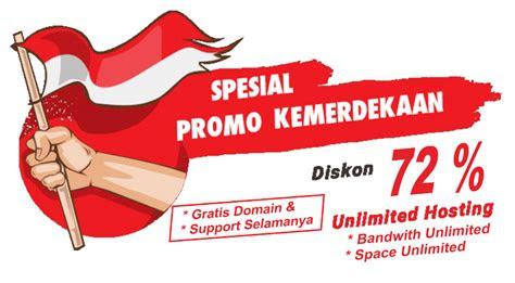 promo  kemerdekaan hut ri  rwd indonesia jasa web
