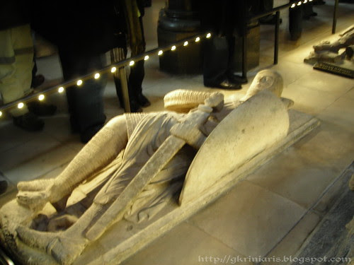 Effigy tomb in Temple Church