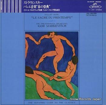 MARKEVITCH, IGOR stravinsky; ballet music