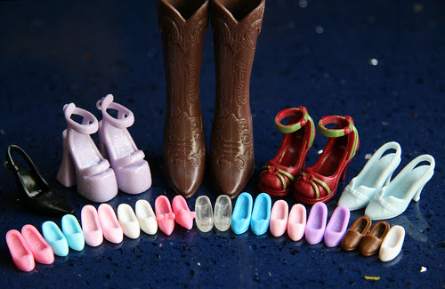 Barbie and Princess shoes