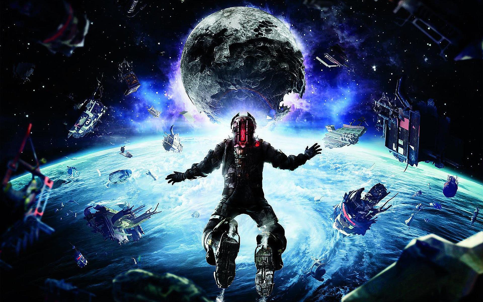 Dead Space 3 Moon