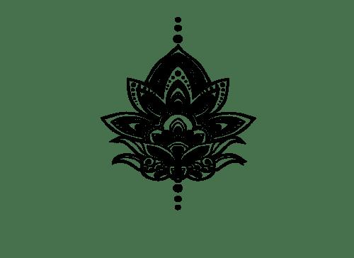 Tatuaje Pequeña Flor De Loto Png Transparente Stickpng