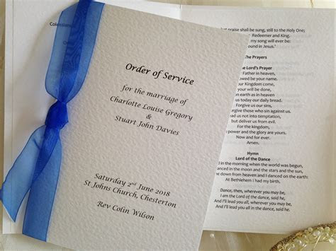 Wedding Ceremony Books from £1.25 each, lots of designs