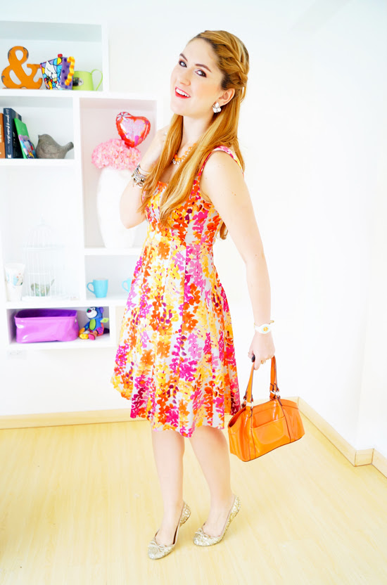 Bright outfit for Summer