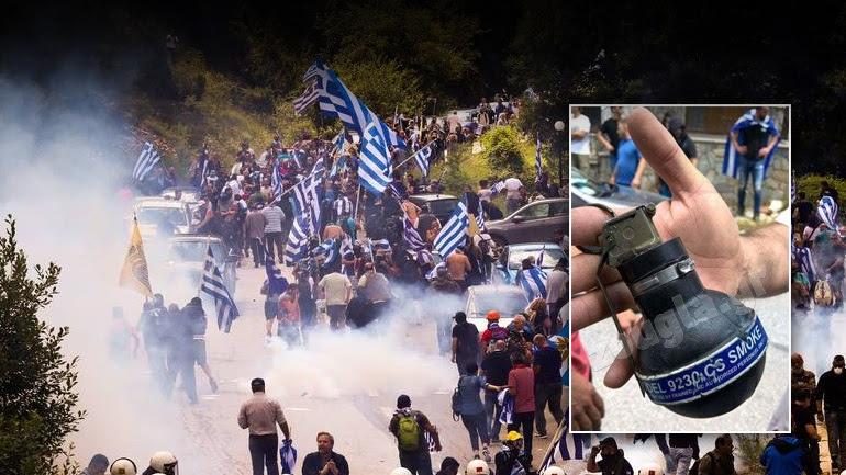 Τι είναι τα δακρυγόνα CS που έριξαν στο Πισοδέρι