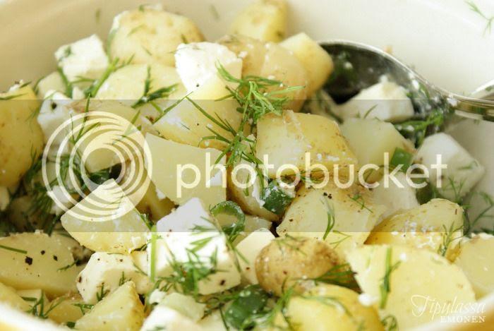 perunasalaatti, kesäruoka