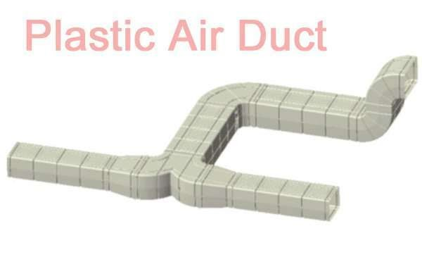 Air Conditioner Parts Plastic Air Duct System