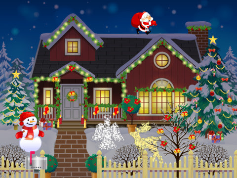 christmas home decoration games christmas decorating house f 10592