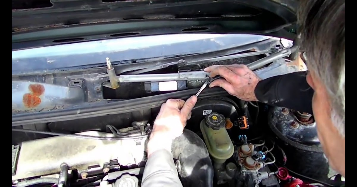 2002 Buick Lesabre Wiper Motor Location