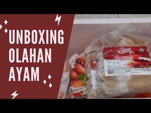 [UPDATE YOUTUBE]  UNBOXING OLAHAN AYAM