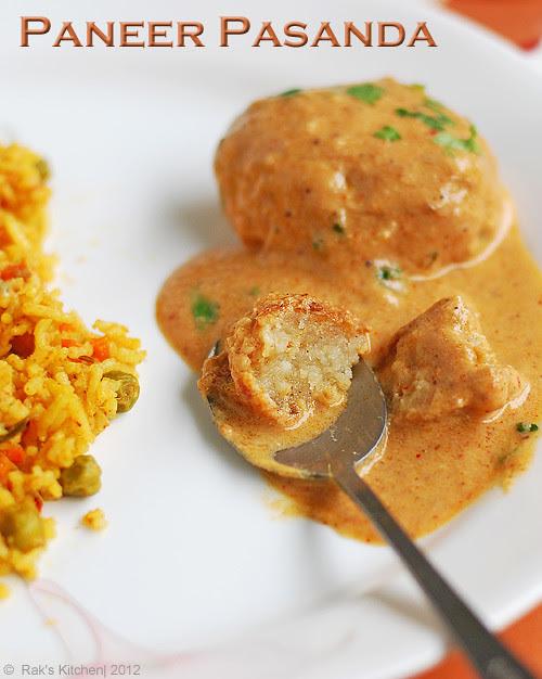 Raks Kitchen Paneer Recipes