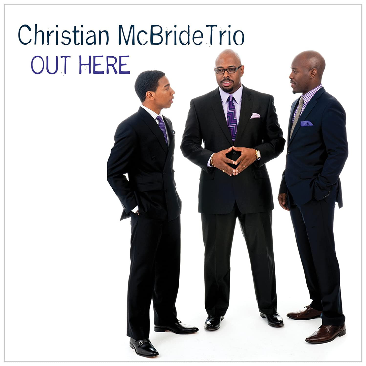 Christian McBride - Out Here cover