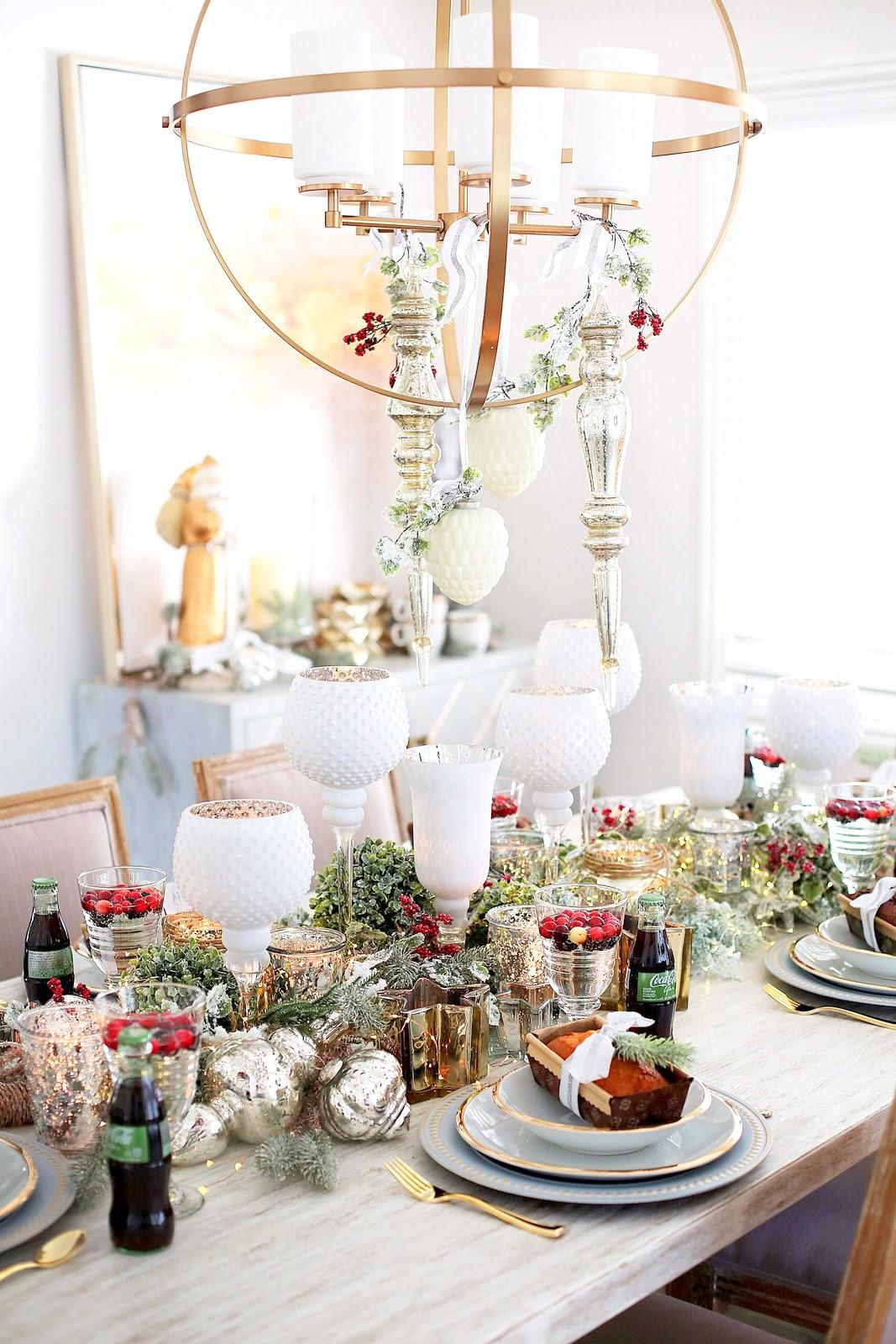 Dining Room Holiday Decor Ideas | Home Decor | Sandy A La Mode