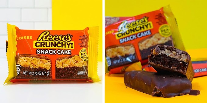 Reese's Is Now Making a Crunchy Version of Its Snack Cakes