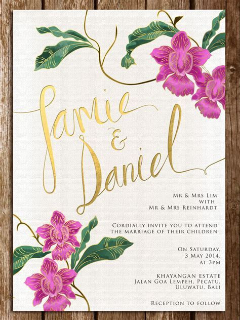 Cheap Wedding Invitation Cards Singapore   Wedding