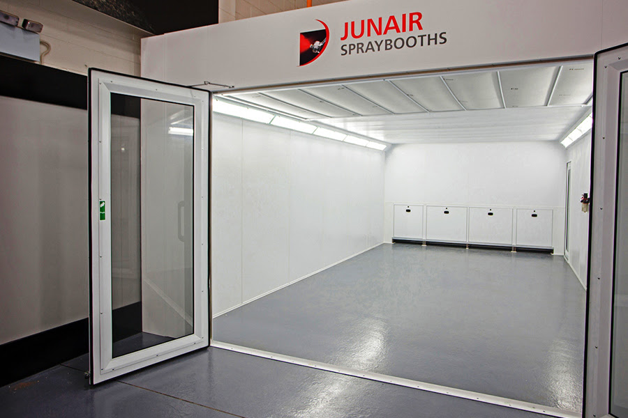 Automotive 1 Series Spray Booth Oven