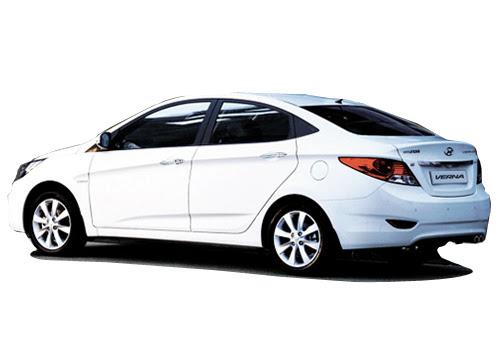 Hyundai Verna Cross Side View