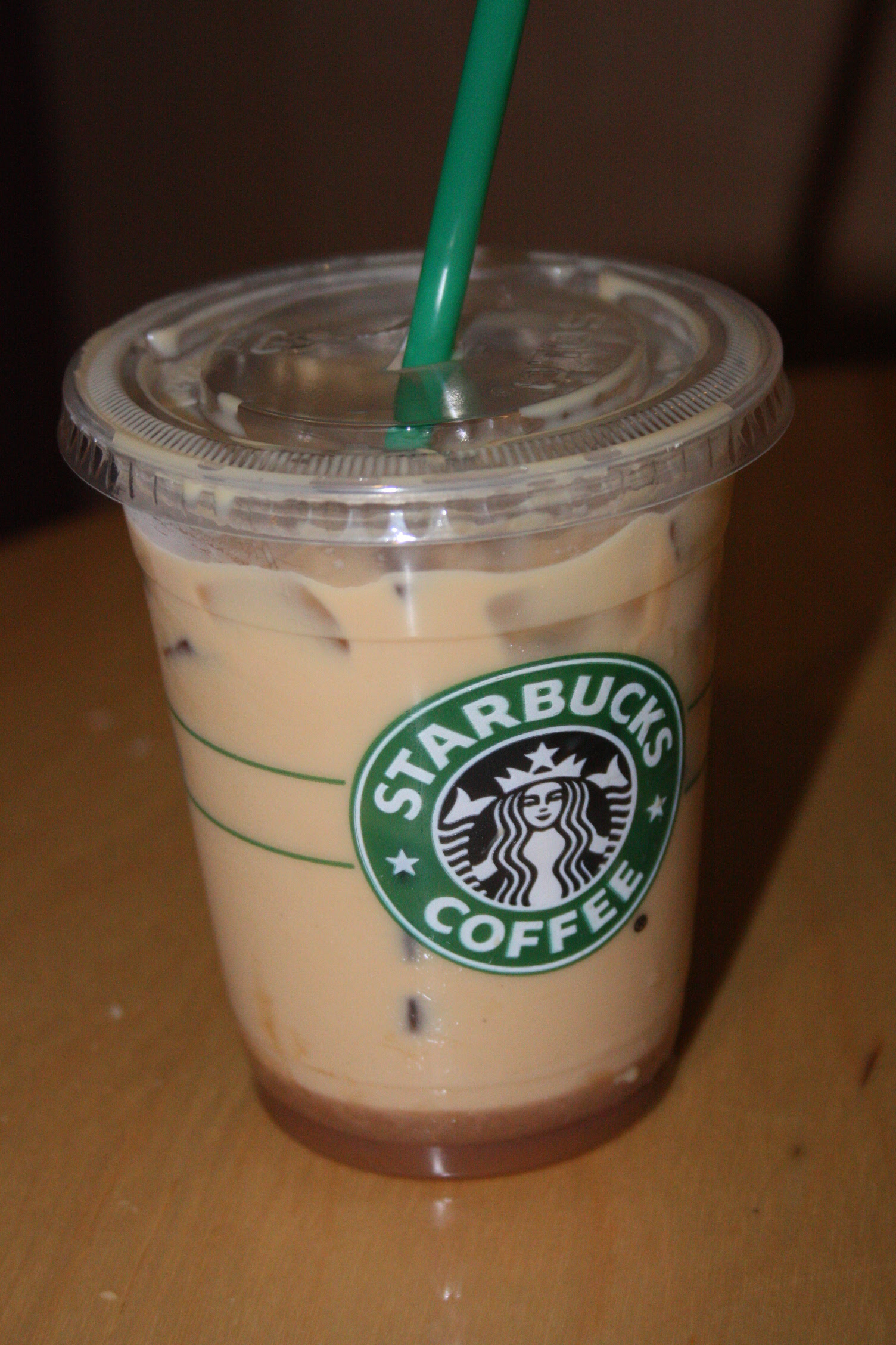 Starbucks Iced Caramel Macchiato Upside Down - change comin
