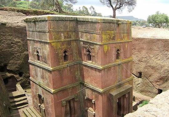 Perierga.gr - Οι μοναδικές εκκλησίες της Lalibela