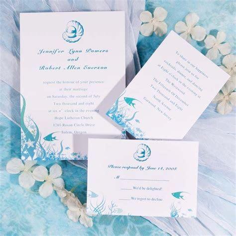 Under The Sea Wedding Invitations [WWI010] [WWI010]   $0