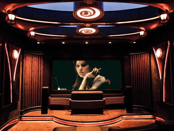Designbuzz : Design ideas and concepts » Hi tech home theater ...