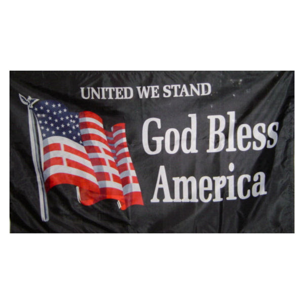United We Stand God Bless America Flag F281 Buffalo Trader Online