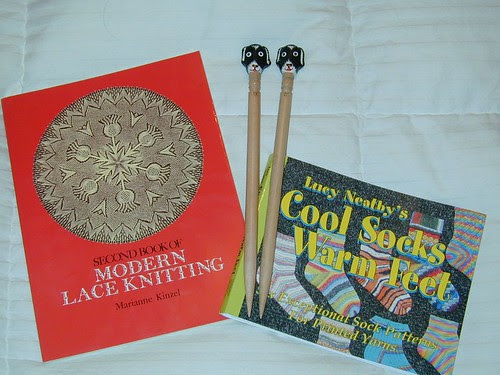 New books & needles from Purly Gates