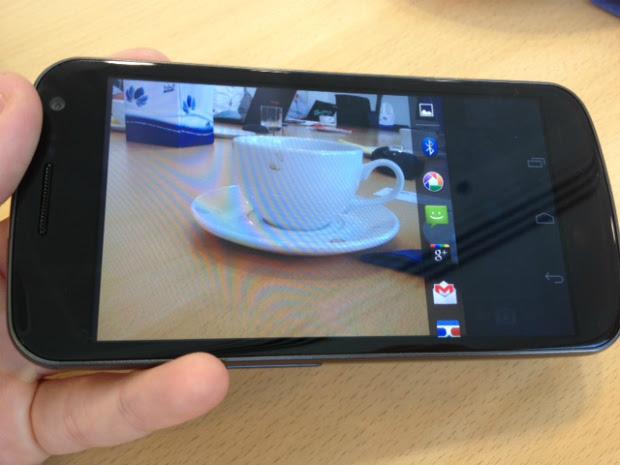 Câmera do Galaxy Nexus foi premiada no TIPA 2012 (Foto: Reprodução)