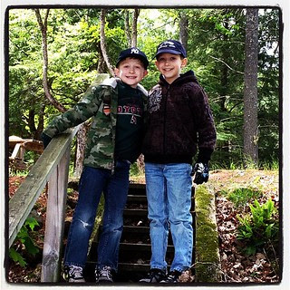 I'm so lucky to have these boys... Such good kids who make the best of everything.  #kidsofinstagram
