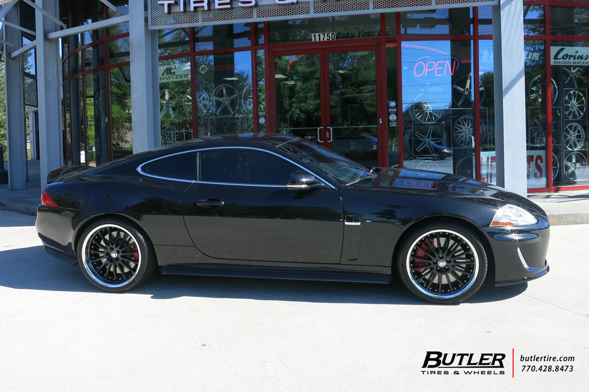 Jaguar Xkr With 20in Coventry Whitley Wheels Exclusively From Butler Tires And Wheels In Atlanta