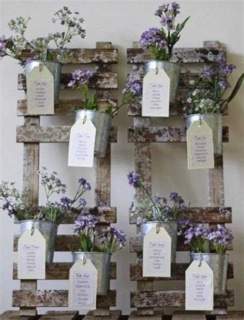 Flower pot table plan   Plan Your Perfect Wedding